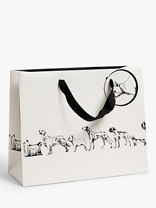 Art File Monochrome Dogs Gift Bag