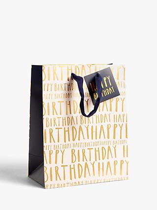 Art File Happy Birthday Gift Bag