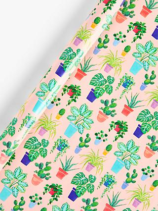 Art File House Plants Wrapping Paper, 3m