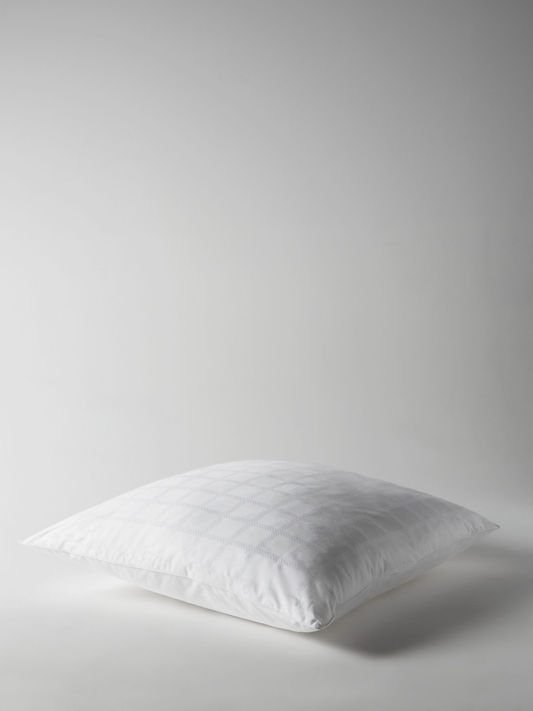 John Lewis & Partners Specialist Synthetic Active Anti-Allergy Square Pillow with Plant-Based Treatment, Firm