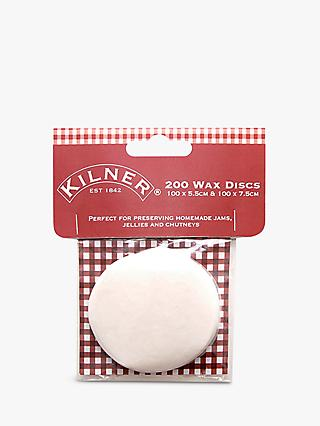 Kilner Wax Paper Discs, Pack of 200