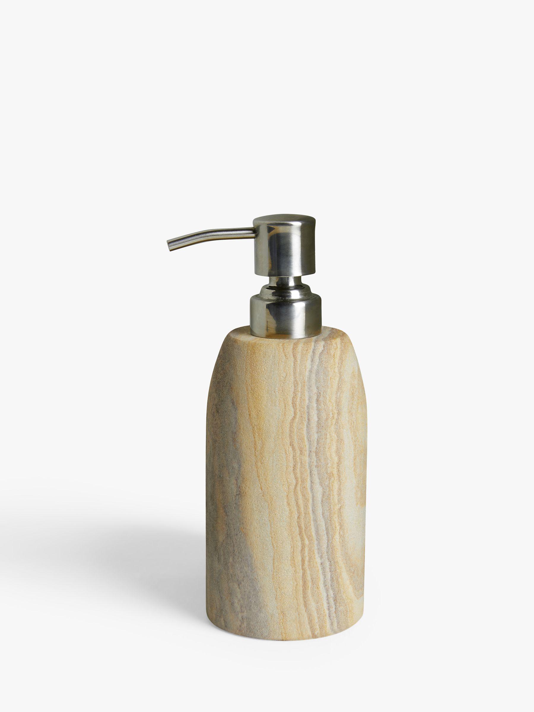 John Lewis & Partners Rainbow Sandstone Soap Pump