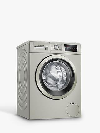 Bosch Serie 6 WAU28TS1GB Freestanding Washing Machine, 9kg Load, 1400rpm Spin, Silver