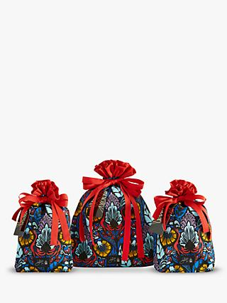 Great British Designer Wrapping Bags in Cosmic Phoenix by Giles Deacon, Set of 3