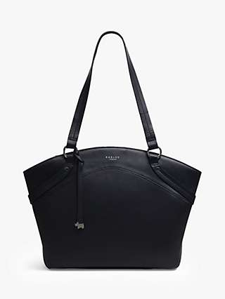 Radley Chester Road Large Leather Tote Bag, Black