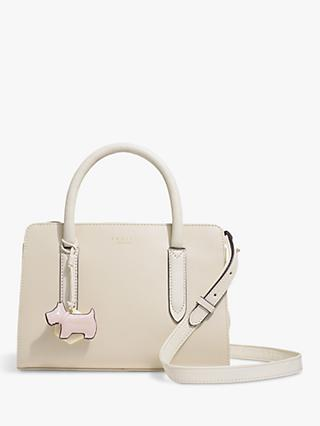 Radley Liverpool Street Small Leather Grab Bag, Natural