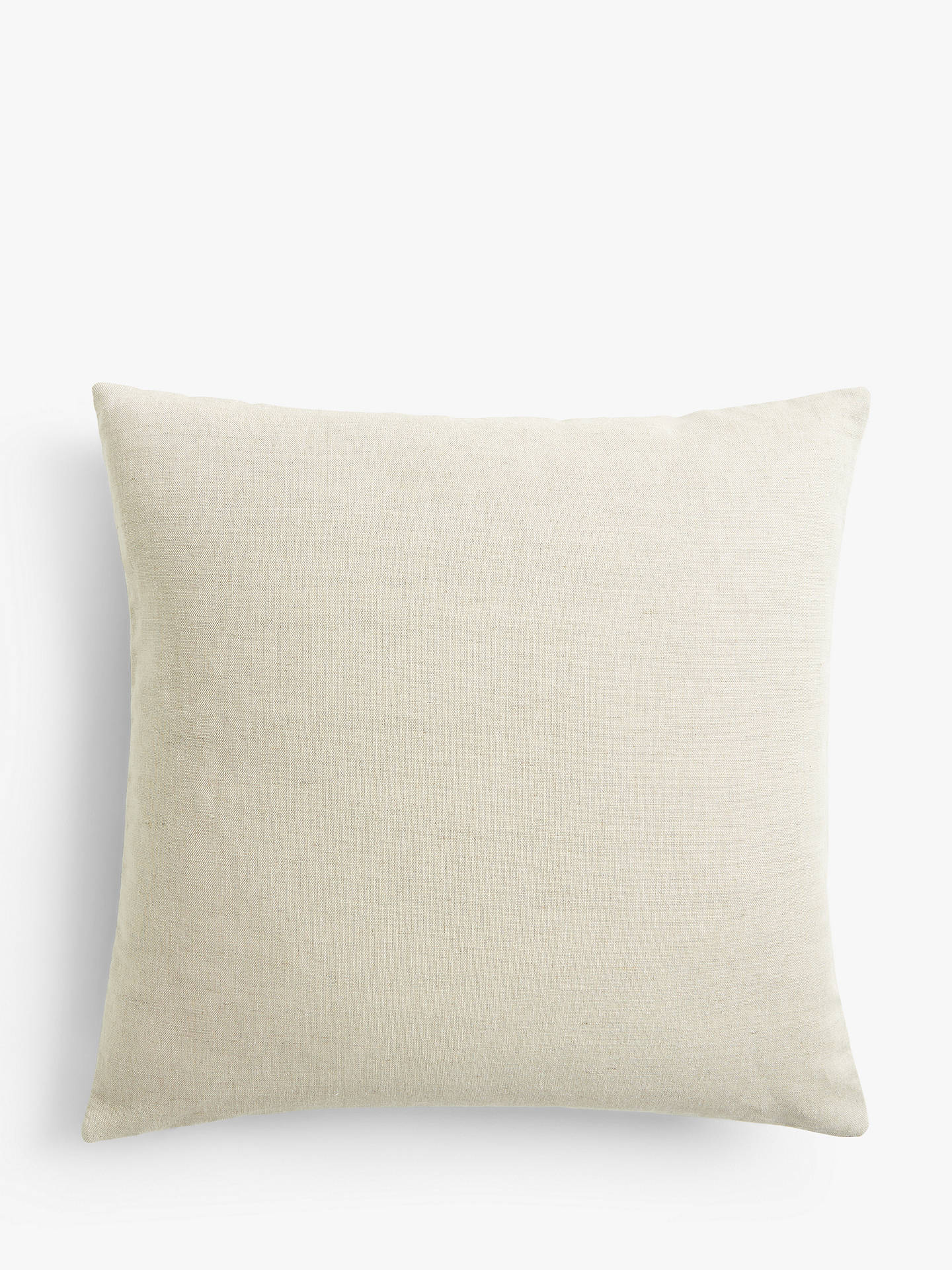 Buy Morris & Co. Marigold Cushion, Navy / Burnt Orange Online at johnlewis.com