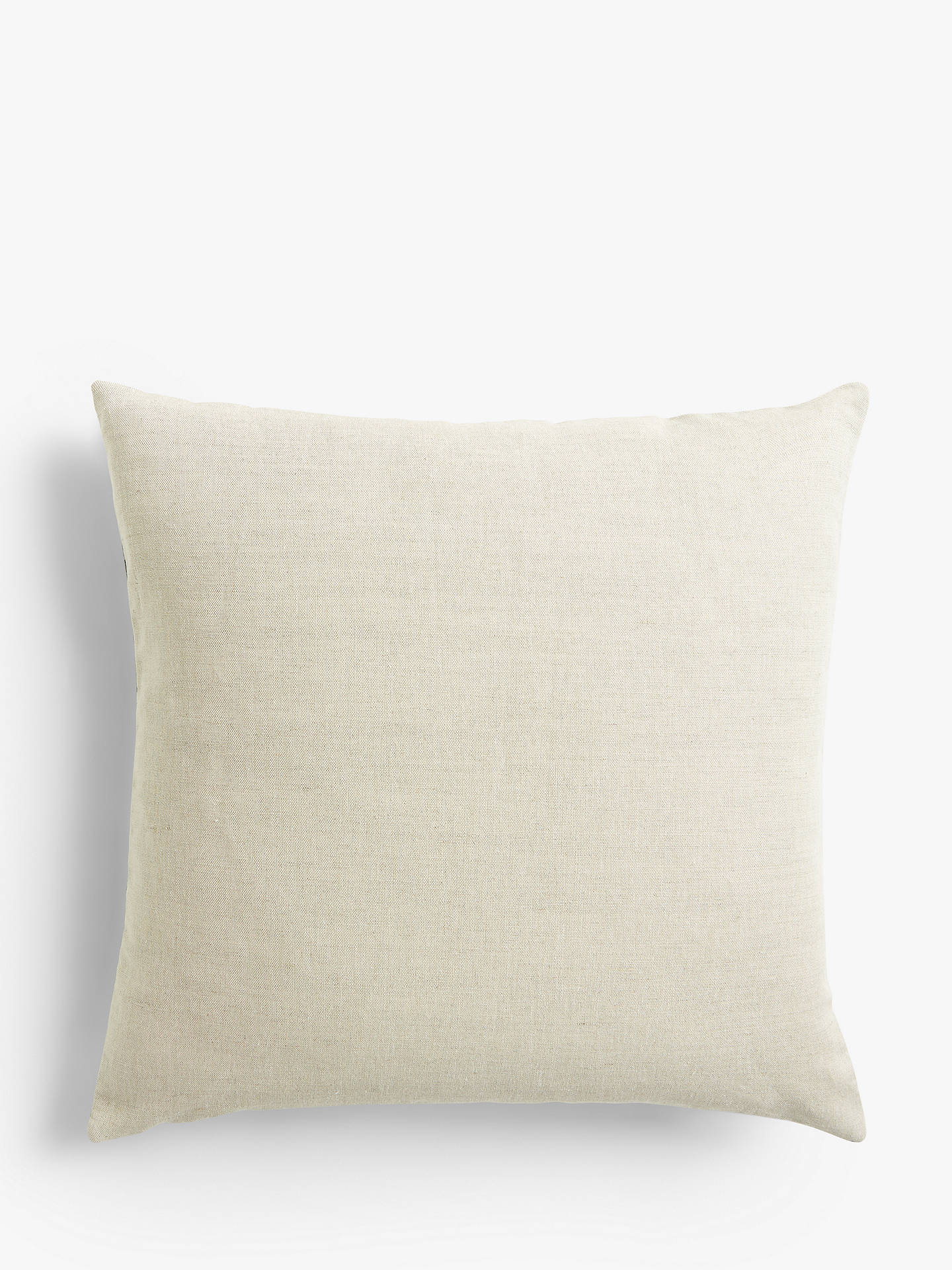 Buy Morris & Co. Marigold Cushion, Navy / Turquoise Online at johnlewis.com