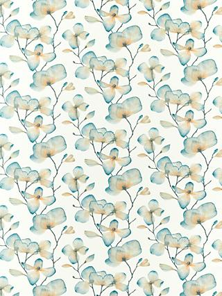 Harlequin Kienze Furnishing Fabric, Teal/Rust