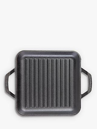 Lodge Cast Iron Square Grill Pan, 28cm
