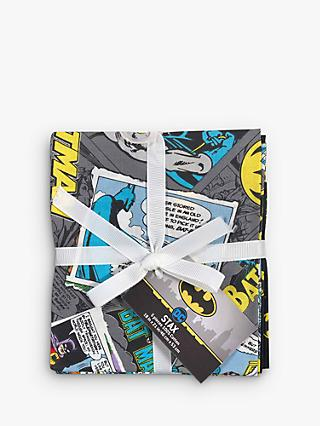 Visage Textiles Batman Fat Quarter Fabrics, Pack of 5, Multi