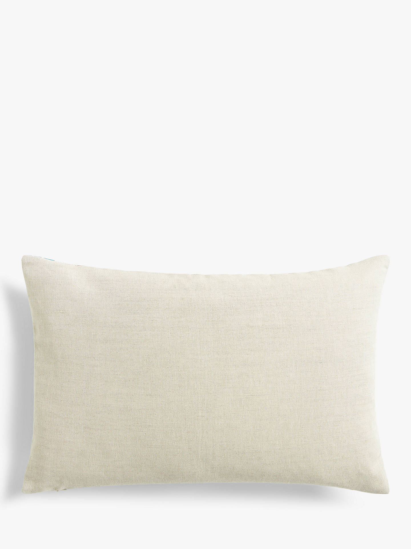 Buy Morris & Co. Daffodil Cushion, Archive Blue Online at johnlewis.com