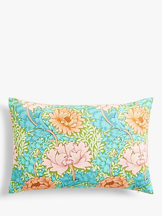 Morris & Co. Chrysanthemum Cushion, Summer