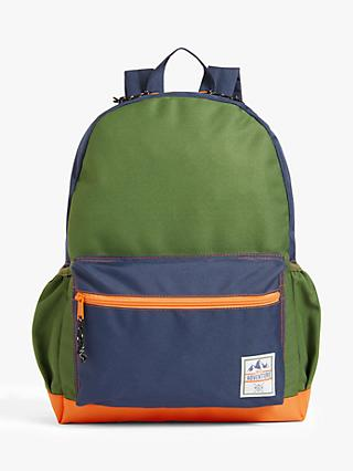 John Lewis & Partners Children's Adventure Backpack, Green