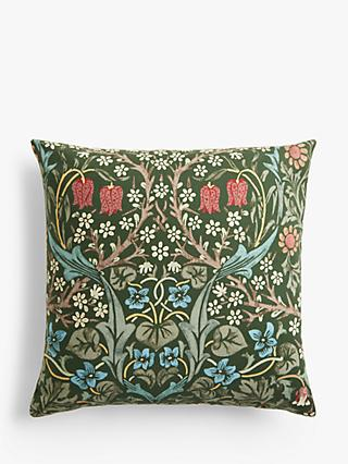 Morris & Co. Blackthorn Cushion, Green