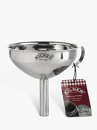 Kilner Stainless Steel Jam Strainer Funnel