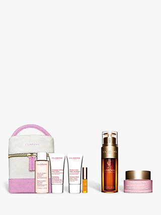Clarins Double Serum and Multi-Active Day Cream Bundle with Gift