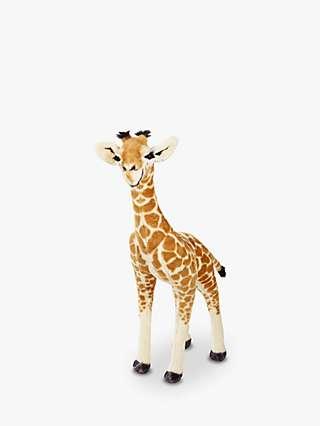Melissa & Doug Giraffe Baby Plush Soft Toy