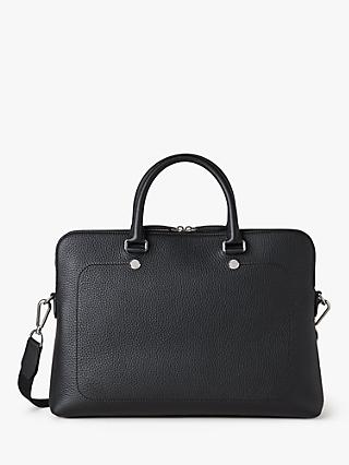 Mulberry City Slim Heavy Grain Leather Briefcase