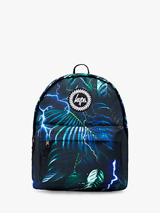 Hype Children's Electric Palm Backpack, Green/Multi