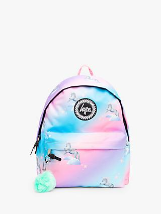 Hype Children's Unicorn Fade Backpack, Pink/Multi