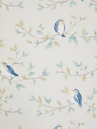 John Lewis & Partners Songbirds Print Furnishing Fabric, Greige