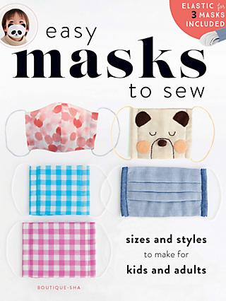 Search Press Easy Masks To Sew Book
