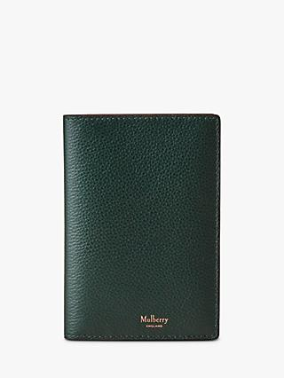 Mulberry Small Classic Grain Leather Passport Cover