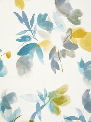 John Lewis & Partners Lenton Rose Print Furnishing Fabric, Citrine