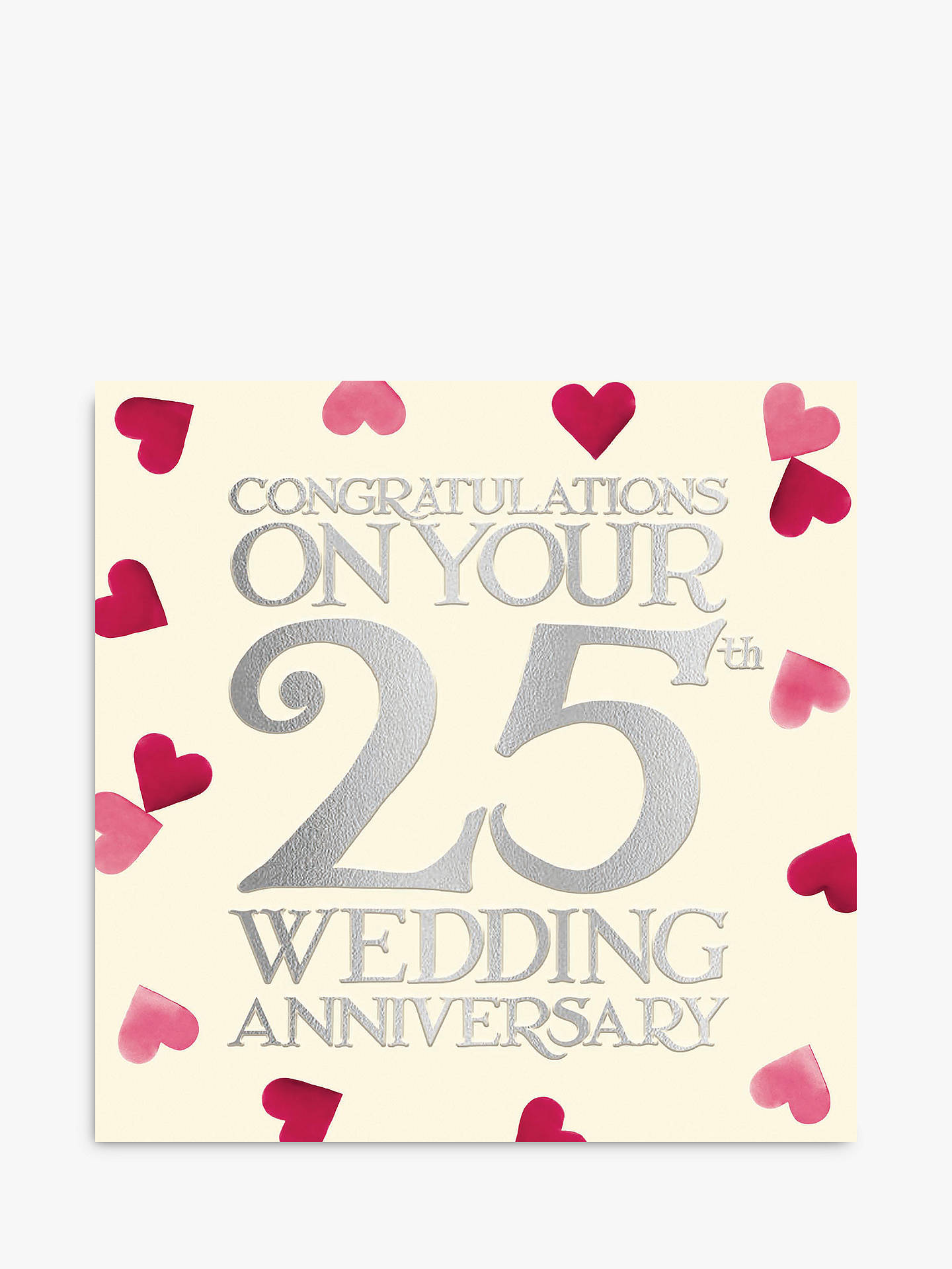 Woodmansterne Hearts 10th Wedding Anniversary Card