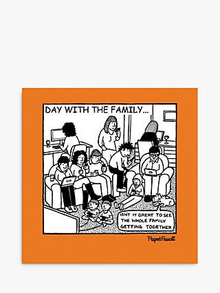 Cardmix Family Gadgets Blank Greeting Card