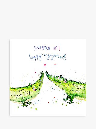 Louise Mulgrew Designs Snapped Up Crocs Engagement Card