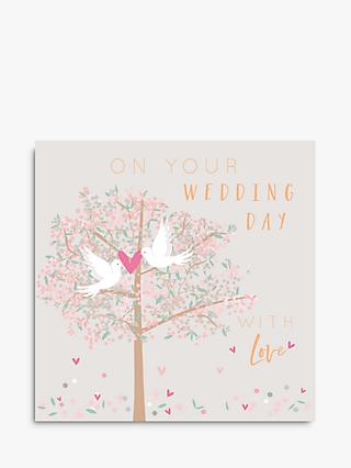Belly Button Designs With Love Wedding Day Card