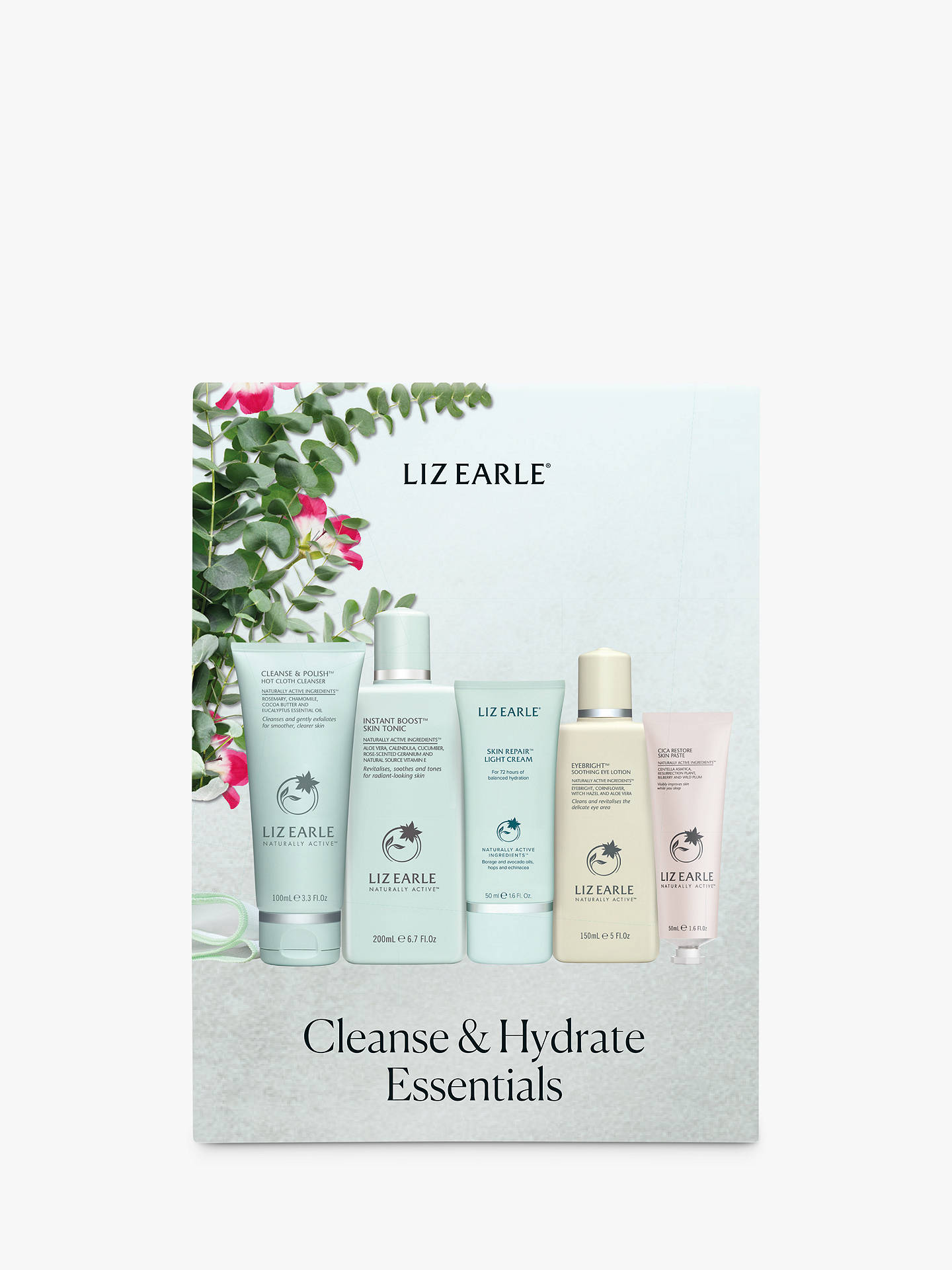 Buy Liz Earle Cleanse & Hydrate Essentials Skincare Gift Set Online at johnlewis.com