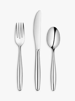 ANYDAY John Lewis & Partners Bow Cutlery Set, 18 Piece/6 Place Settings