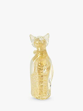 Svaja Camila Cat Ornament, Luxe Gold