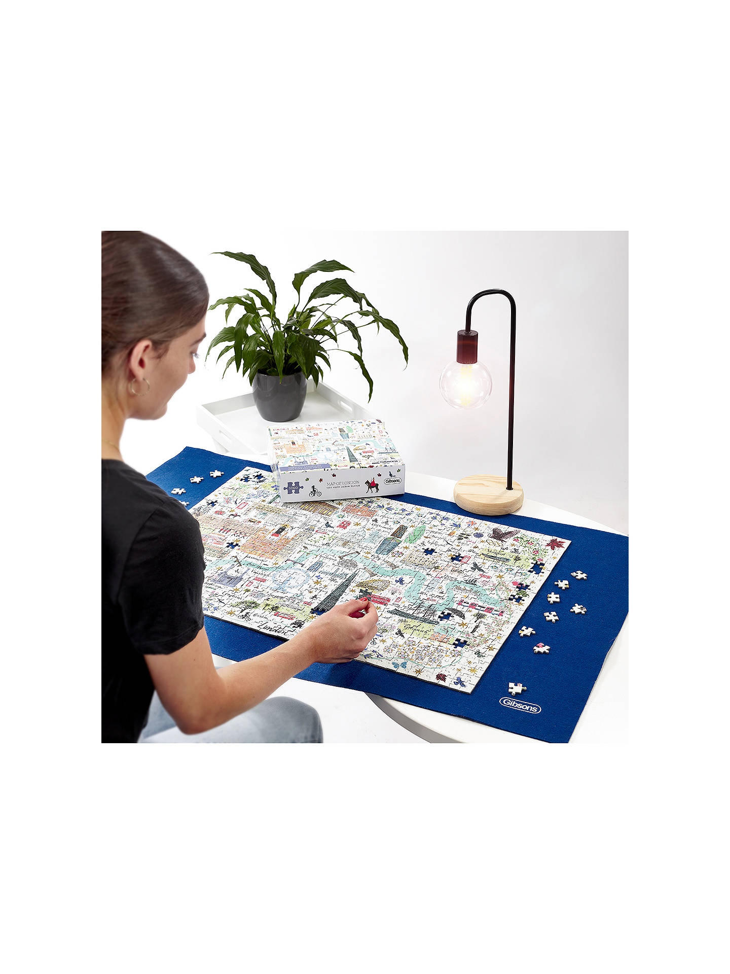 Buy Gibson London Map Jigsaw Puzzle, 1000 Pieces Online at johnlewis.com