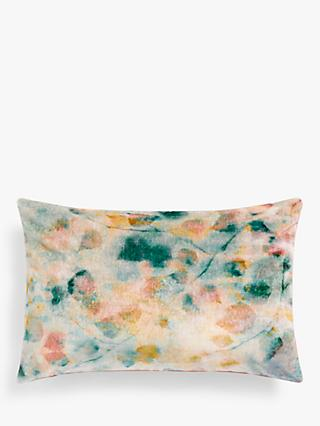 John Lewis & Partners Birch Velvet Cushion, Multi