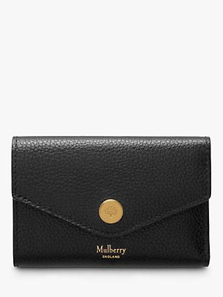 Mulberry Folded Multi-Card Small Classic Grain Leather Wallet