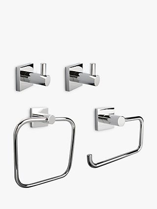 Miller Atlanta Chrome Bathroom Fittings Set