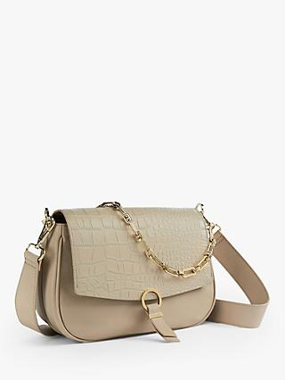 Ted Baker Jjolie Leather Cross Body Bag, Taupe