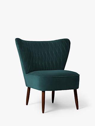 Quin Range, Swoon Editions Quin Chair, Dark Leg