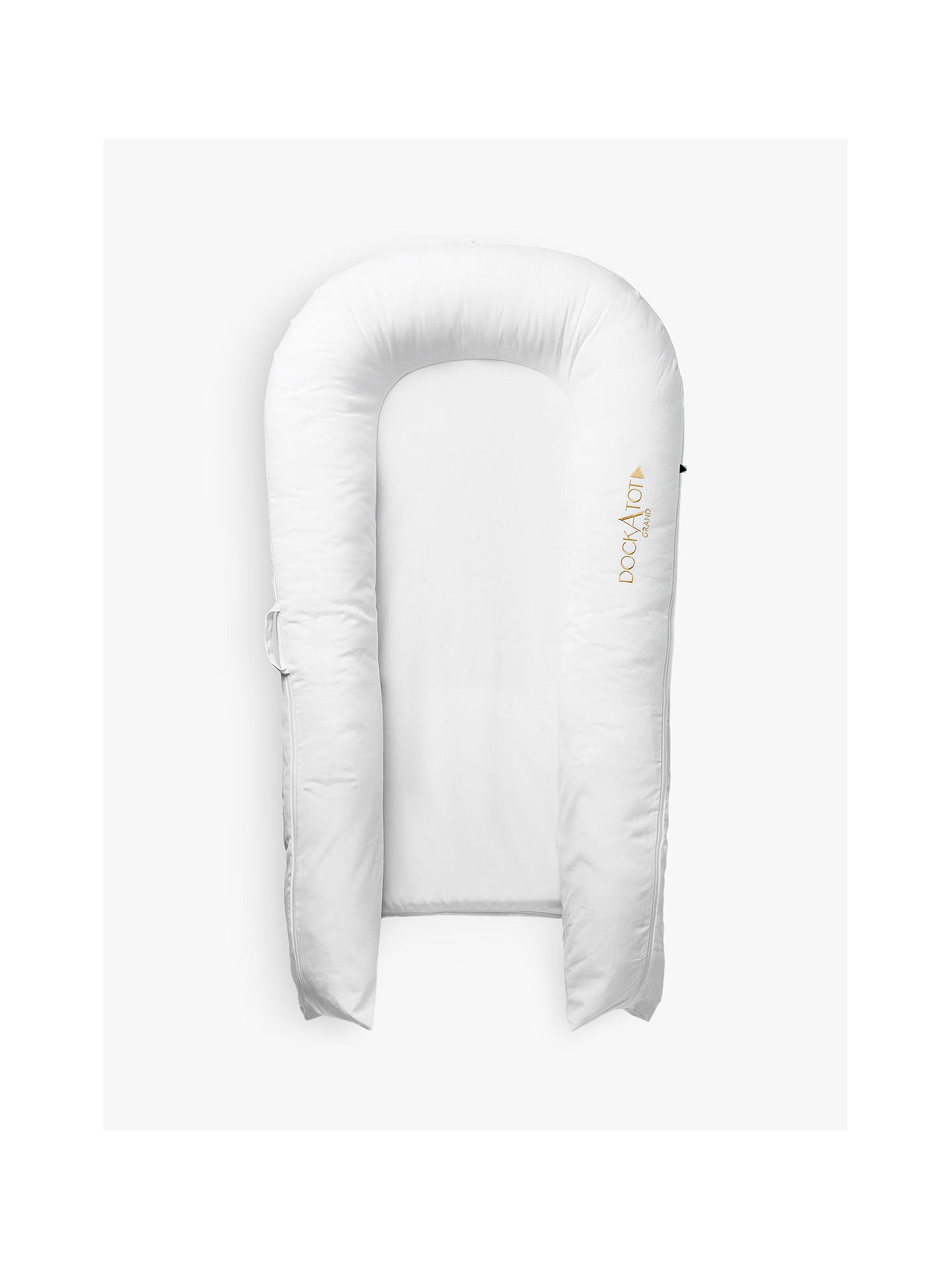 Buy DockATot Grand Pristine White Baby Pod, 9-36 months Online at johnlewis.com