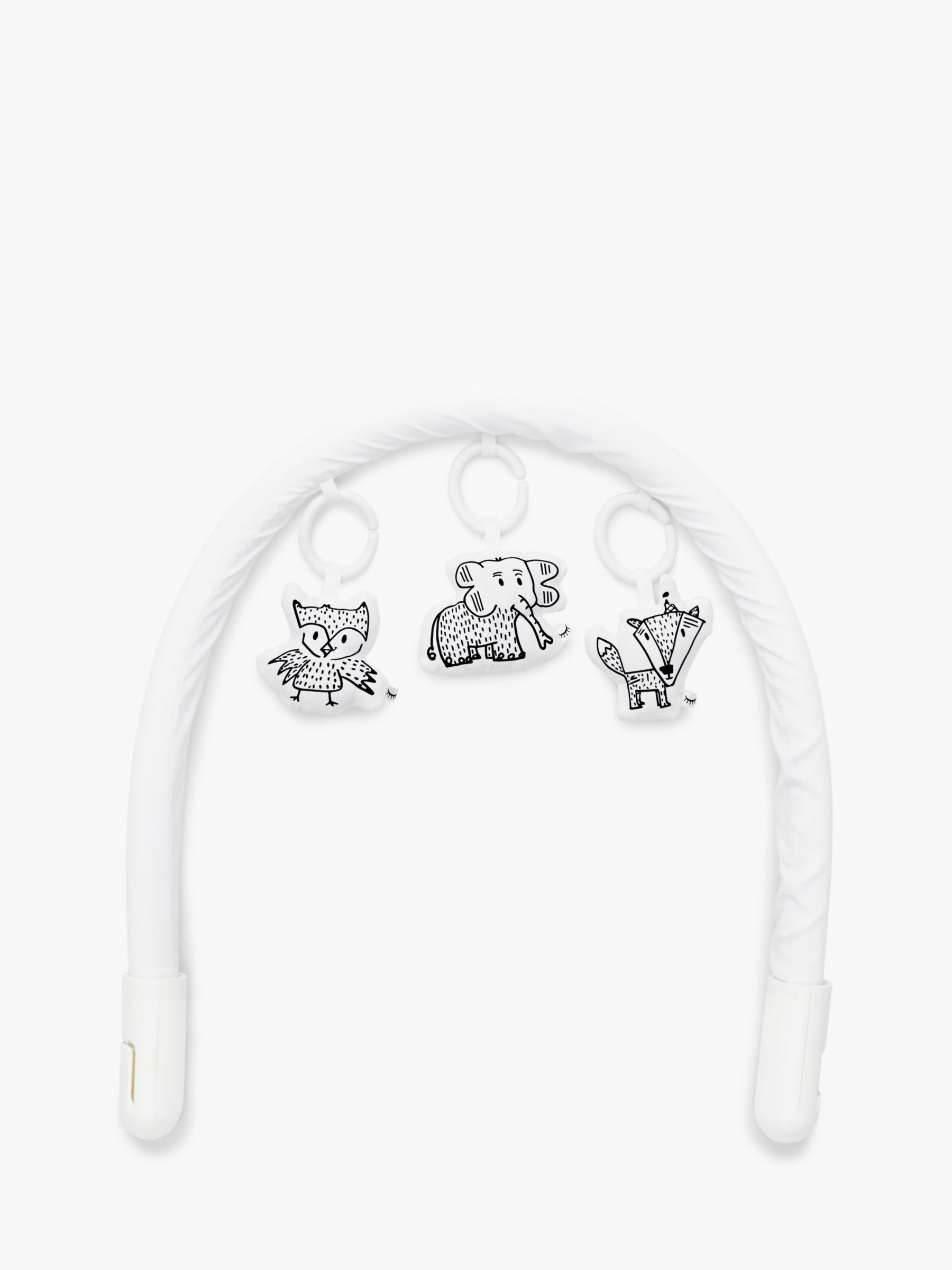 DockATot Baby Mobile Toy Arch and Hanging Cheeky Chums Toy Set