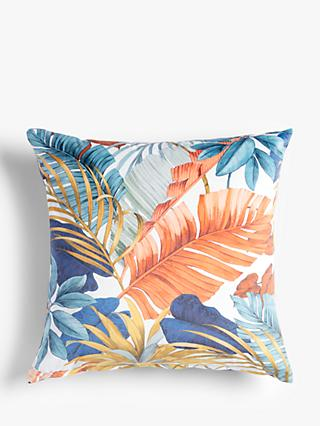 ANYDAY John Lewis & Partners Jungle Palm Cushion, Multi