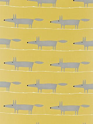 Scion Mr Fox 2 Furnishing Fabric
