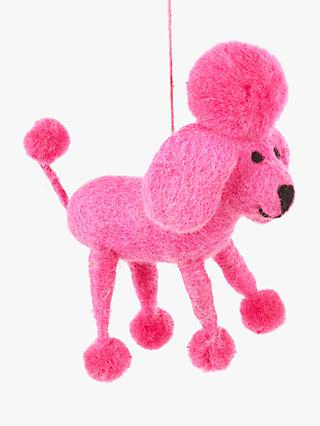 Felt So Good Pop Art Perez Poodle Tree Decoration