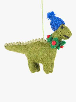 Felt So Good Pop Art Cosy Dino Tree Decoration