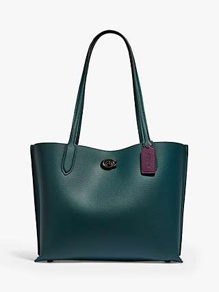 Coach Willow Leather Tote Bag
