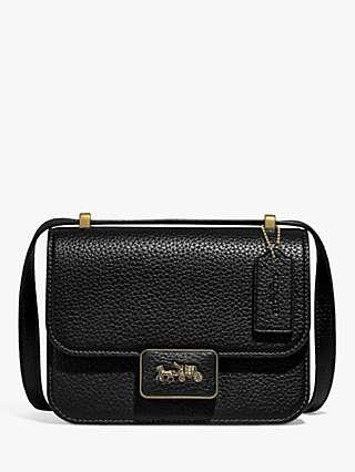 Coach Alie Leather Shoulder Bag